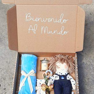 caja sorpresa bienvenido bebe