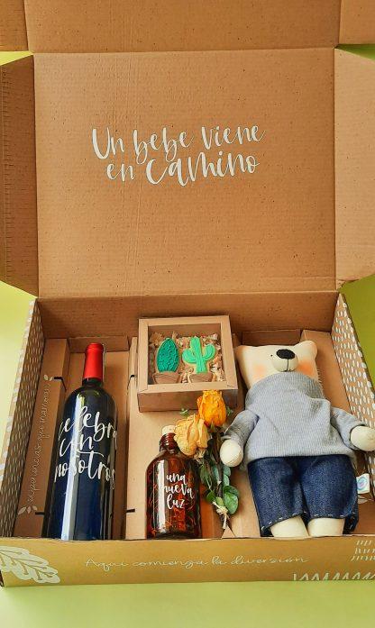 caja sorpresa bebe en camino